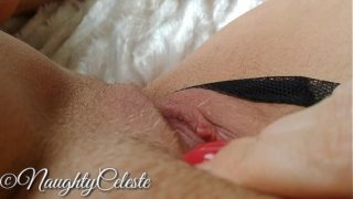 4K Pussy Rub To Real Orgasm